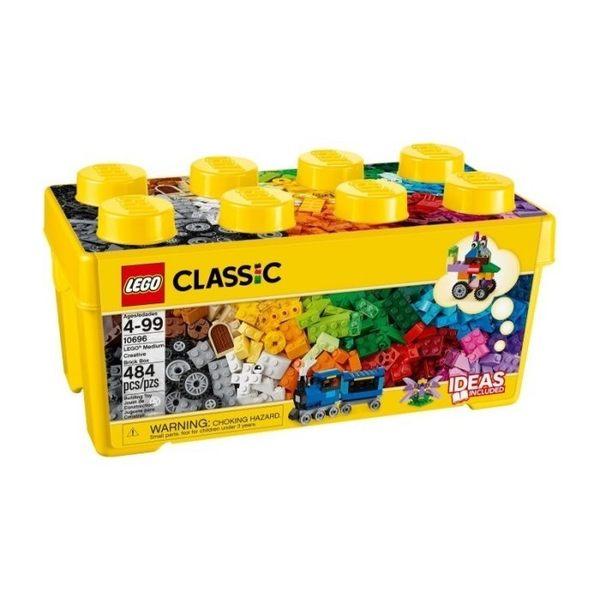 LEGO 樂高積木 CLASSIC 經典系列 LEGO 10696 中型創意拼砌盒 COCOS LG042