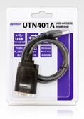 [ 中將3C ]   Uptech 登昌恆 UTN401A USB to RS-232訊號轉換器   UTN-401A