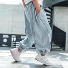 男童褲子夏季薄款兒童防蚊褲中大童夏裝哈倫牛仔褲2021新款燈籠褲 一米陽光
