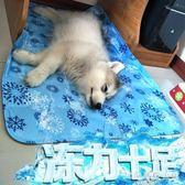 狗狗涼席寵物冰墊凝膠涼墊貓咪冰墊貓降溫狗墊子夏天狗狗冰墊狗窩 LH1731【3C環球數位館】