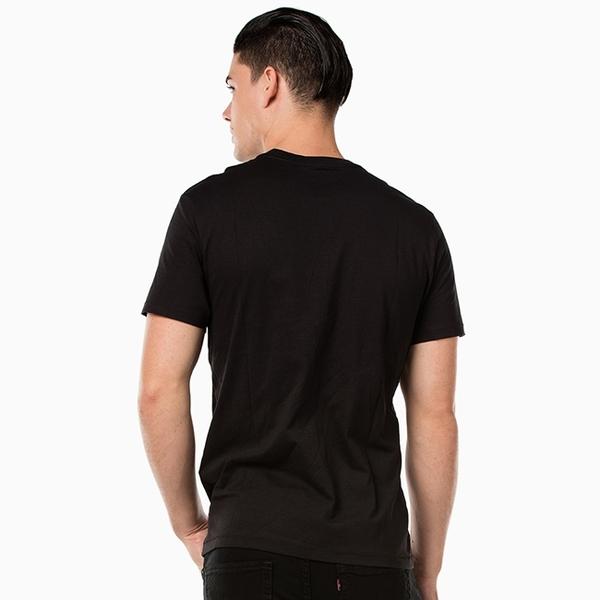 Levis 男款 短袖T恤 / 經典LOGO TEE / 黑色 / 延續款