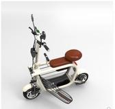 48V親子電動車迷你折疊電動自行車遛狗電瓶車寵物小型電動代步車交換禮物