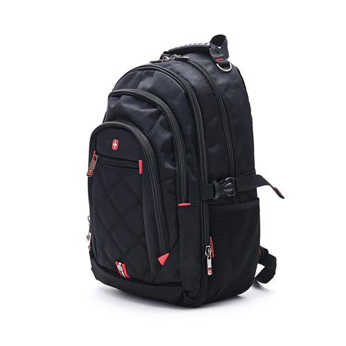 OVERLAND - 美式十字軍 - 極致美型設計交叉菱格紋後背包 - 3071