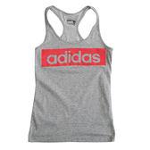 Adidas ESS LINEAR TANK  背心 AJ4567 女 健身 透氣  舒適 復古 運動 休閒 新款 流行 經典