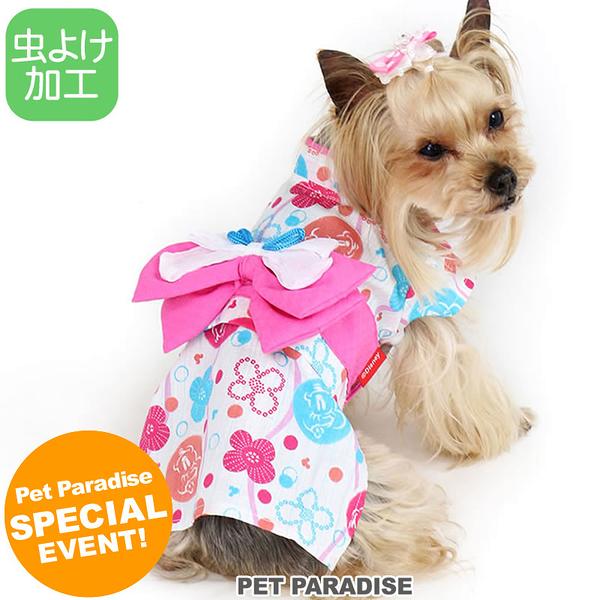 【PET PARADISE 寵物精品】DISNEY 米妮滿版祭典連身浴衣 (DS) 狗衣服 寵物用品 寵物衣服