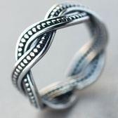 925純銀戒指-生日情人節禮物扭線麻花造型獨特簡約百搭女飾品73ae7【巴黎精品】