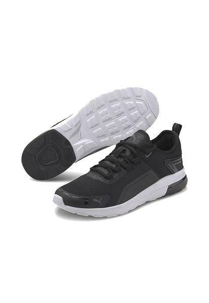 PUMA ELECTRON STREET ERA 男女款黑色運動休閒鞋-NO.37412601