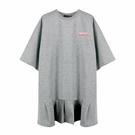 『小鱷魚童裝』寬版荷葉下擺洋裝(10號~...