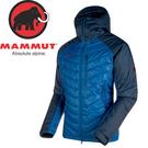 【MAMMUT 男 Rime Pro IN Hooded 連帽化纖外套 《 群青藍/藍》】1010-21880/化纖外套