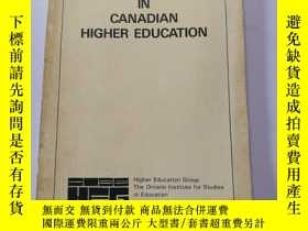 二手書博民逛書店READINGS罕見IN CANADIAN HIGHER EDU