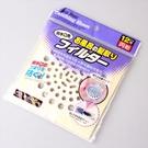 日本一次性地漏貼紙(12片裝) 直徑15cm 地板毛髮阻絕 防蟑