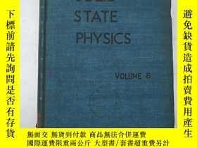 二手書博民逛書店solid罕見state physics volume 8(H4