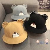 童帽 男寶寶帽子秋冬季1-3歲2潮男童韓版兒童漁夫帽小孩4個性0男孩韓國 4色