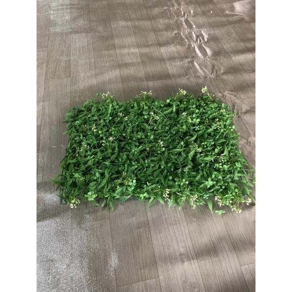 塑膠人工草皮草坪地毯假草坪仿真草地仿真植物牆(60*40/@222-8227)