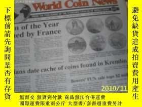 二手書博民逛書店World罕見Coin News(Vol.22,No.3)(Ja