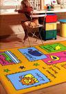 【范登伯格】卡哇伊兒童學習小地毯-可愛動...