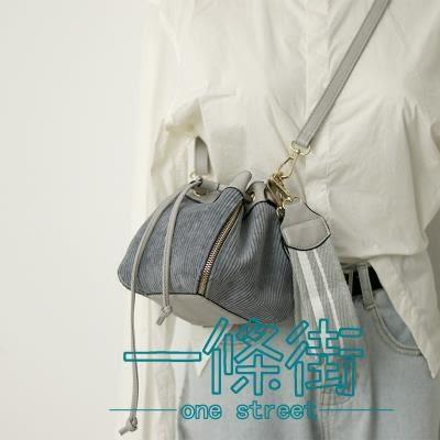 小包包女2018新款韓版抽帶水桶包百搭手提少女包迷你單肩斜挎包潮