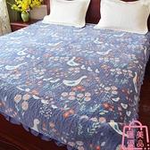 毛毯床單冬季絨毛防滑水晶絨珊瑚絨夾棉【匯美優品】