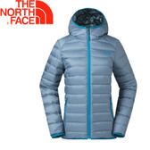 【The North Face 女款 700fp雙面羽絨外套《藍》】35CMUBP/防潑水/可收納★滿額送