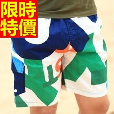 海灘褲-衝浪防水風靡好搭潮流創意男短褲子14色54q15[時尚巴黎]