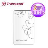 【Transcend 創見】TS2TSJ25A3W 2TB 外接硬碟 USB3.0