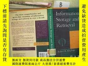 二手書博民逛書店Information罕見Storage and Retriev