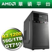 華碩A320平台【進擊鬥士】R3四核GT710獨顯電玩機