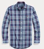 美國代購 Polo Ralph Lauren 棉質格紋襯衫 (XS~XXL) ㊣