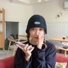 熱賣毛線漁夫帽 UncleYao自留款墻裂推薦韓國東大門寬邊顯臉小貼標毛線漁夫帽子 coco