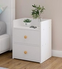 床頭櫃 置物架簡約現代收納柜簡易臥室床邊小柜子迷你小型儲物柜【快速出貨八折搶購】