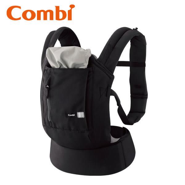 康貝 Combi Join 舒適減壓腰帶式背巾 芝麻黑
