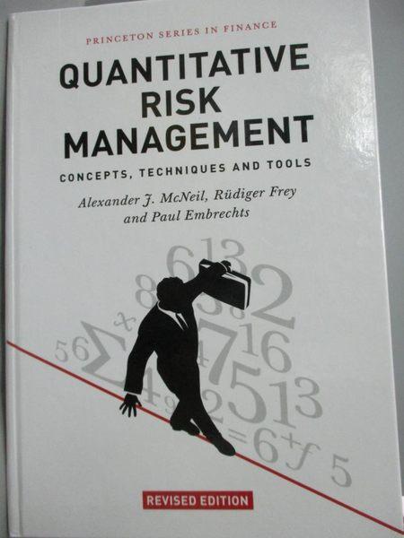 【書寶二手書T2/科學_YGE】Quantitative Risk Management: Concepts, Tech