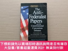 二手書博民逛書店The罕見Anti-Federalist Papers and the Constitutional Conven