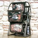 相框 5寸歐式復古浮雕摩天輪相框婚紗寶寶組合大風車像框創意擺台禮物 米蘭街頭