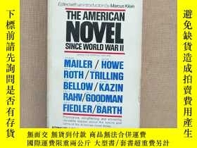 二手書博民逛書店THE罕見AMERICAN NOVEL SINCE WORLD