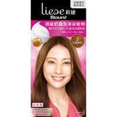 莉婕 LIESE 頂級奶霜泡沫染髮劑 2古銅棕色│飲食生活家
