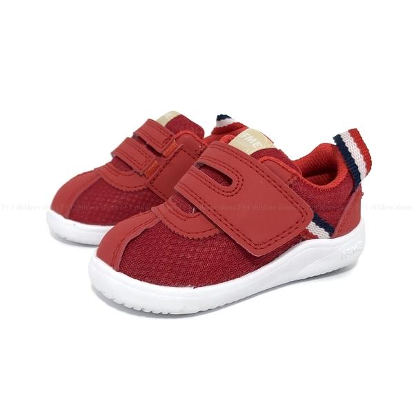《7+1童鞋》日本 IFME 寶寶機能 學步鞋 D497 紅色