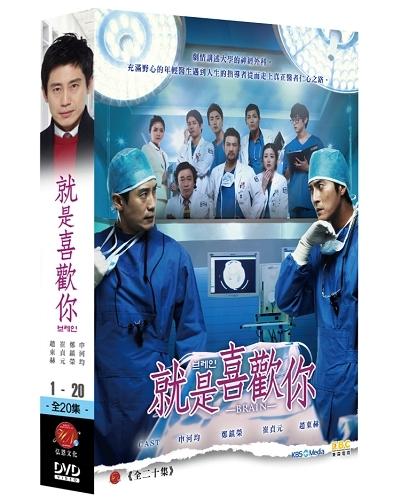 就是喜歡你 DVD 雙語版 ( 申河均/崔貞媛/趙東赫/鄭進永 ) [Brain]