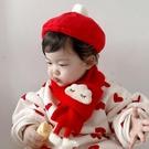 兒童圍巾 圍巾春季男女童圍脖保暖6-12月柔軟嬰兒圍巾1-3歲可愛超萌【快速出貨八折下殺】