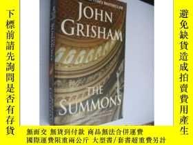 二手書博民逛書店The罕見summons(英文原版36開)Y85718 John