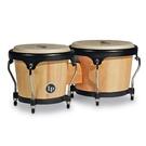 LP邦哥鼓LPA601-AWspire® Wood Bongos, Natural/Black原木黑框