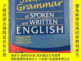 二手書博民逛書店Longman罕見Student Grammar of Spoken and Written EnglishY