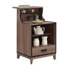 【采桔家居】麥拉倫 時尚2尺木紋中島型餐櫃/收納櫃