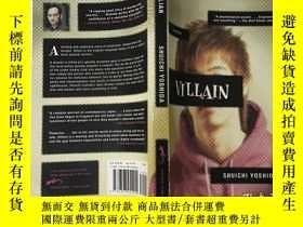 二手書博民逛書店VILLAIN罕見反派人物 (英文原版)Y199921 Shui