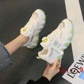 小白鞋 老爹女鞋子ins潮2020春夏季新款小雛菊小白百搭運動網面透氣網鞋 VK1244