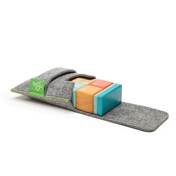 【one more】美國代購 正品 美國tegu安全無毒磁性積木 經典口袋組 現貨日落款 兒童節禮物