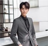 西裝外套 西裝男套裝正韓修身正裝男青年結婚商務 【免運86折】