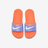 Nike Kawa Slide SE GS/PS [AJ2503-001] 童鞋 運動 休閒 拖鞋 涼鞋 雨天 橘紫