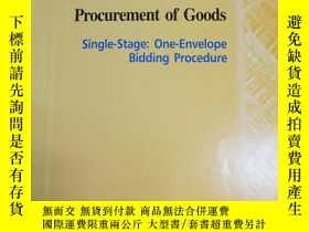 二手書博民逛書店STANDARD罕見BIDDING DOCUMENT PROCU