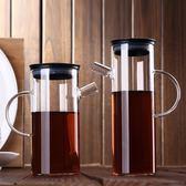 每週新品 悅物廚房玻璃家用大容量油壺創意透明防漏油罐醬油瓶醋瓶調味瓶